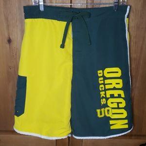 Oregon Ducks Board Shorts Swim Trunks